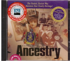 Swift Familly Ancestry CD