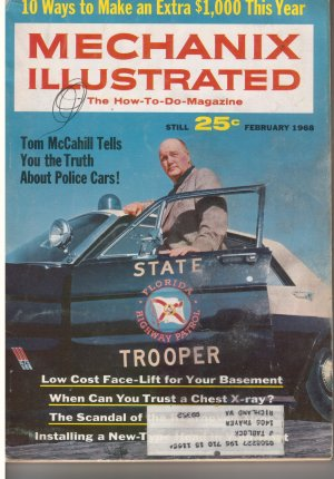 1968 February issue Mechanix Illustrated