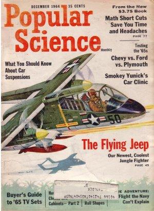 Popular Science Magazine -- December 1964