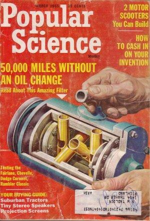 Popular Science Magazine -- March 1965