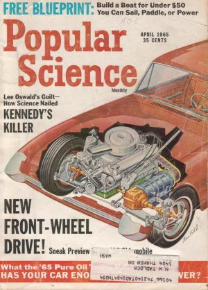Popular Science Magazine -- April 1965