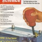 Popular Science Magazine -- October 1968