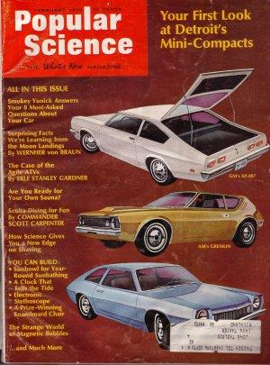 Popular Science Magazine -- February 1970