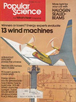 Popular Science Magazine -- September 1978