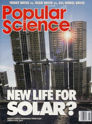 Popular Science Magazine -- May 1989