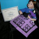 Amish Porcelain Doll Rebeccah Kruger Knowles #38s 1991