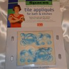 Bubbles Trading Spaces design TLC contain 16 Textured appliqués