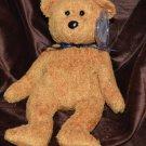 Ty Beanie Baby Fuzzy Brown Bear Fuzz tush tag no # swing tag 1998