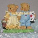 Love Bear Pair - Spring Easter Adorable display