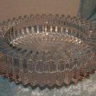 Elegant Bar Nut dish - Ashtray Glass Saw Tooth Pattern