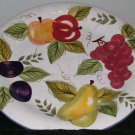 """Oneida Vintage Fruit Dinner Plate Dish 10 1/2"""""""