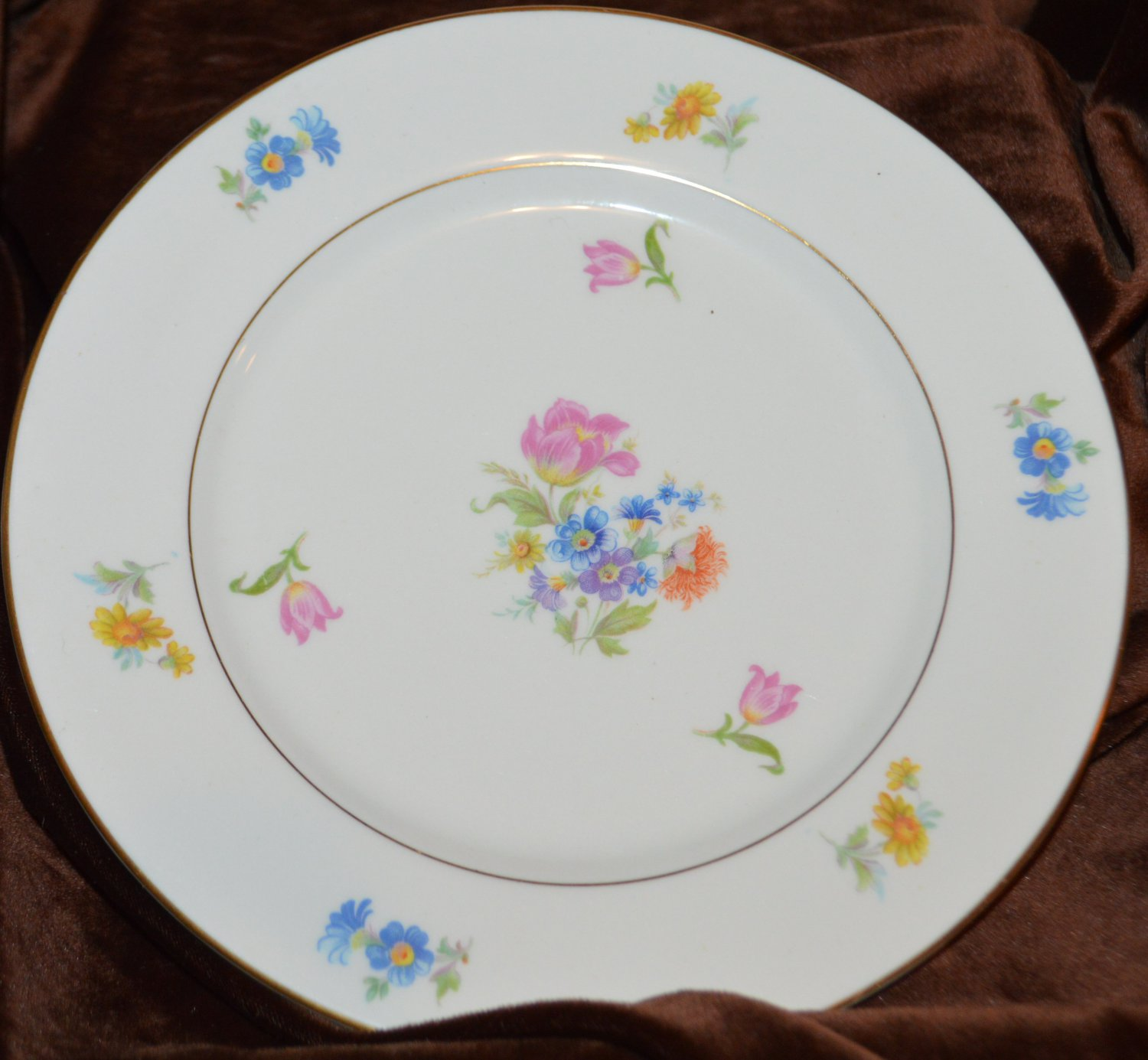 Jackson Featherweight Fine China Dessert Salad Bread Small Dinner Plate 8""