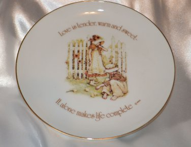 Lasting Memories Love is Tender Warm & Sweet Collector Plate