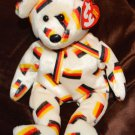 International Beanie baby Bear Deutschland German Mint with Tags 2003 TY