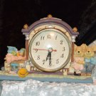 Adorable Mouse Resin Quartz Clock  fresh battery