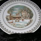 Set of 4 Roy Thomas Collection of Currier & Ives Winter Scenes