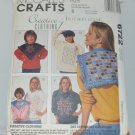 McCall's Sewing Pattern 6722 - Creative Clothing Snip-Snip Technique Collar Fron