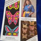 Backstreet Reusable Fashion Patches  Butterflies Wearable Removable Glitzable