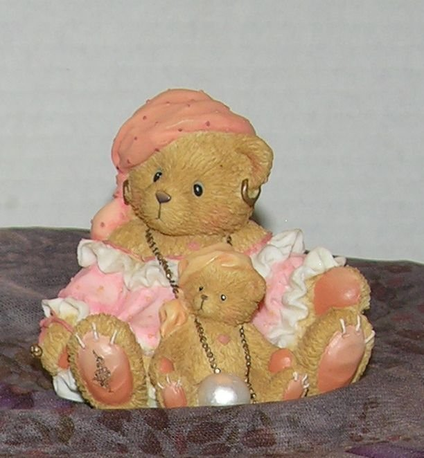 """Enesco Cherished Teddies - Carrie """" The Future Bereth all Things """" - Eula VFD"""