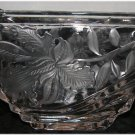 * Iris - Orchid Glass Planter - Candy dish - keys at the door