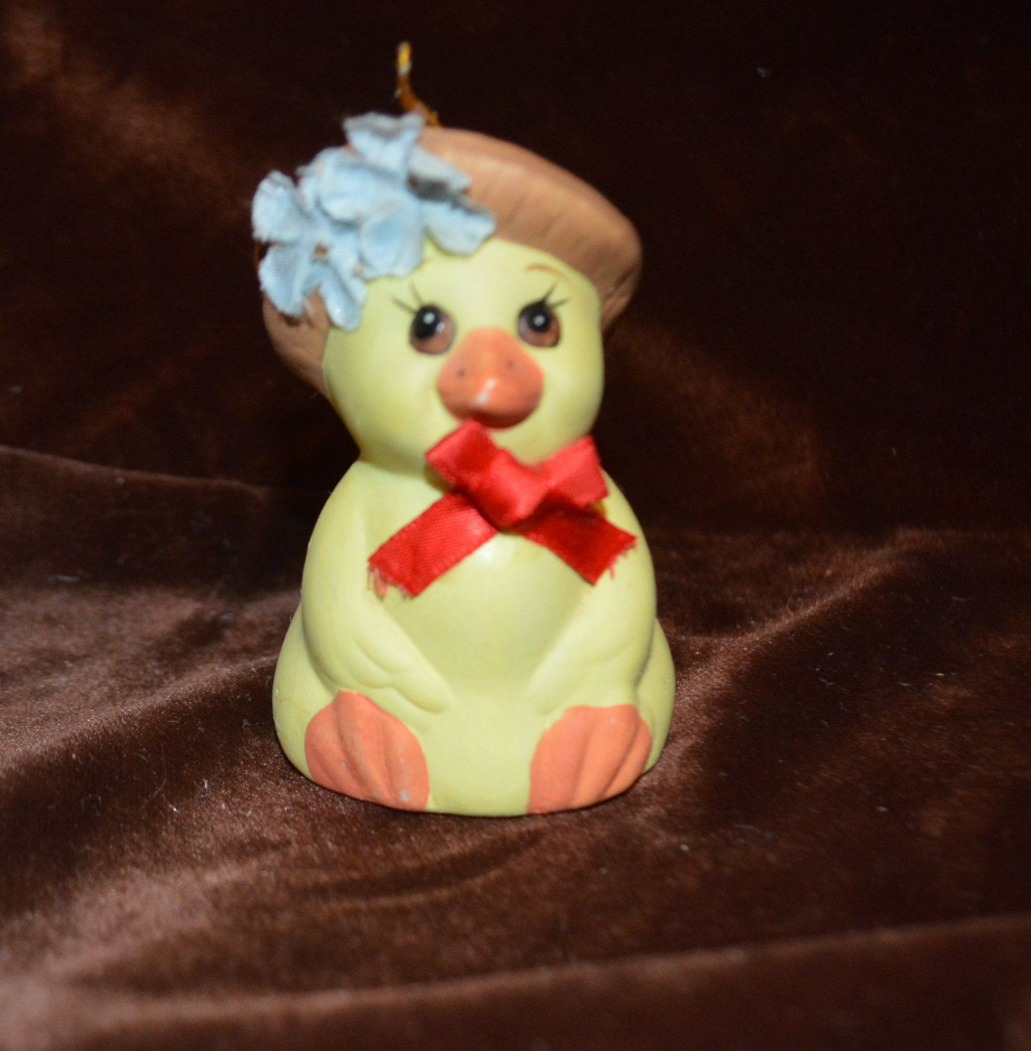 Bells & Bows Chick Chicken Bell Christmas or Easter Decor Ornament or Duck