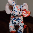 USA Ty Beanie Baby Righty  Show Your Party's support with this Elephant 2004