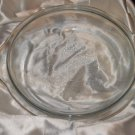 Vintage Fire King Glass Edged Pie Pan