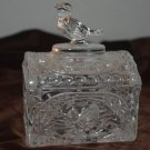 HofBauer Byrdes Dome Top Lid Clear Crystal Trinket Box