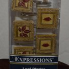 Expressions Leaf Diaries 12 Shower Curtain Hooks