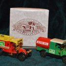 Collector's set of Classic Trucks Tanker and Water Truck
