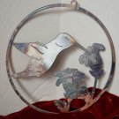 Plasma Cut Metal Humming Bird Yard Door or Window Art Decoration
