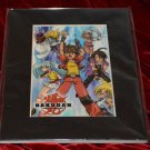 Nelvana Bakugan Battle Brawlers Official Laser Cel Image Print