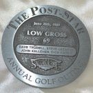The Post-Star Annual Golf Outing 1989 Pewter Medallion