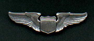 1. US Air Force Pilot Wings  USAF