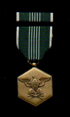 US Army Commendation medal with ribbon bar