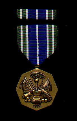 US Army Achievement medal with ribbon bar