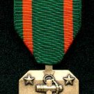 US Navy and Marine Achievement medal with ribbon bar
