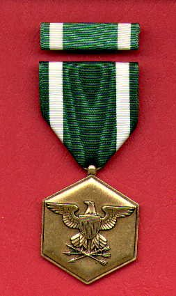 US Navy Commendation medal with ribbon bar