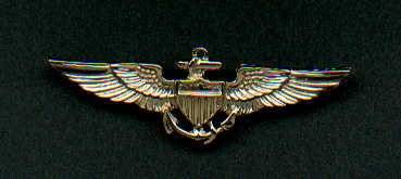Navy or Marine Corps Pilot Wings Badge