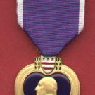 US Purple Heart medal  with ribbon bar