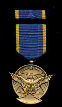 US Aerial Achievement medal with ribbon bar