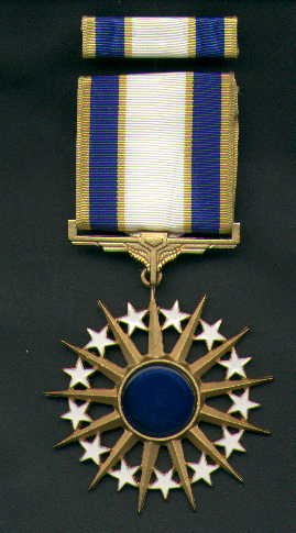 US Air Force Distinguished Service Medal with ribbon bar