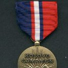 US Kosovo Campaign medal with ribbon bar