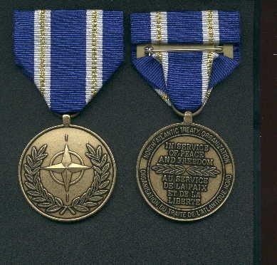 NATO Active Endeavour medal Article 5