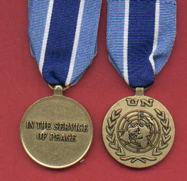 UN United Nations medal for Kosovo  UNMIK