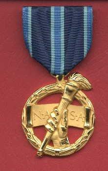 NASA Outstanding Leadership medal