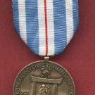 Korean Defense Commemorative medal with ribbon bar