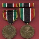 Liberation of Kuwait Commemorative medal with ribbon bar