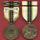 Cold War Victory medal with ribbon bar