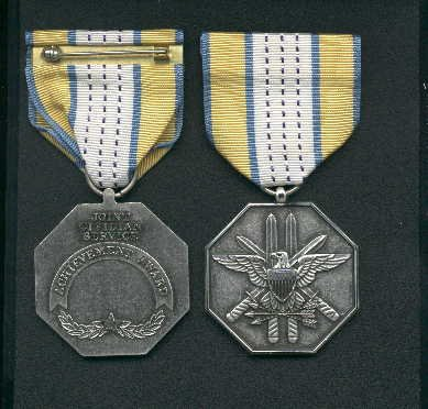 TEMPORARILY SOLD OUT--Joint Service Civilian Achievement Award medal
